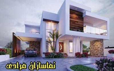 طراحی نما مدرن -نما ساختمان